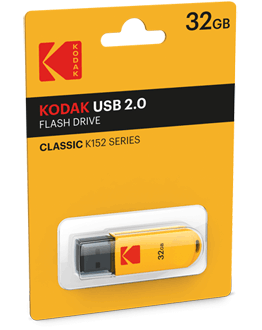 USB Flash Drives K152 Yellow Pack
